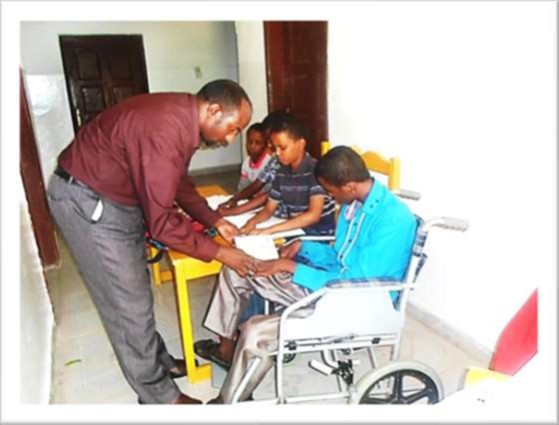 Somaliland Braille Teaching Center